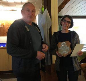 Maik Jessen und Carmen Frahm Generalversammlung 2020 Bester Ausstellungshund